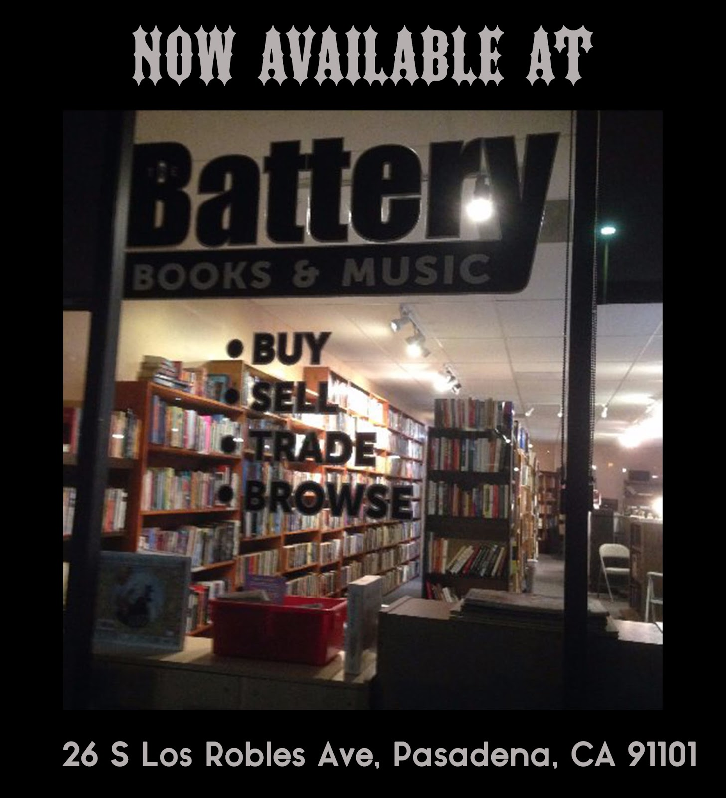 Switchblade Magazine at Battery Books and Music