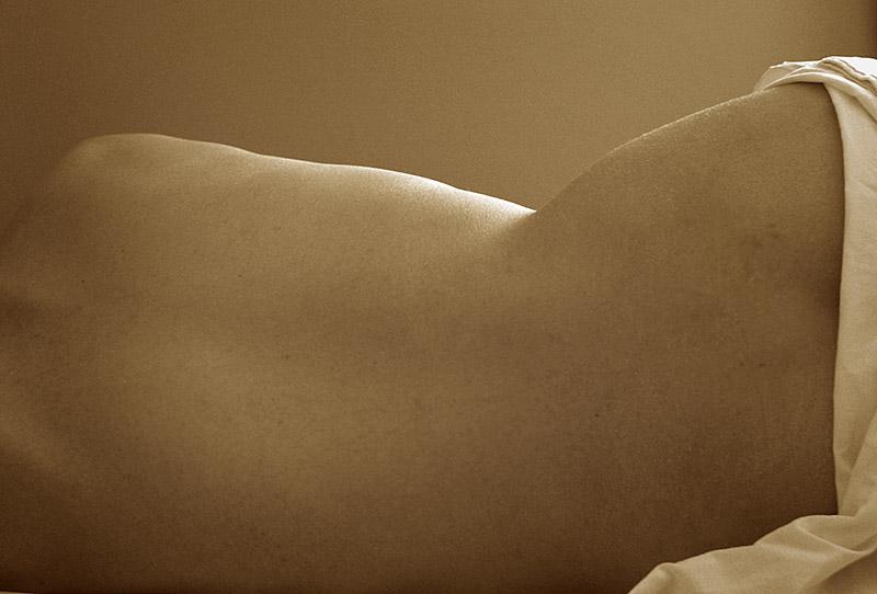 Draped Nude